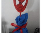 enfeite de mesa do homem aranha
