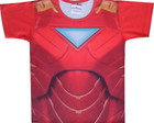 Camiseta infantil Iron Man