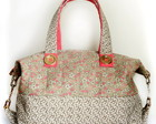 Bolsa Floral Rosa 9060