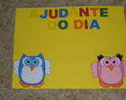 Quadro De Ajudante Pequeno