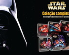 6 Caixas coleo completa Star Wars