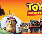3 Caixas da trilogia Toy Story