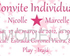 Convite Individual Infantil
