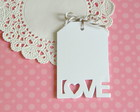 Love Tags Algod�o (A327)