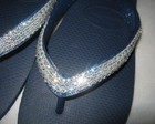 HAVAIANAS TOP MARINHO COM SWAROVSKI