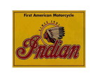 Placa MDF Retrô- Motorcycle Indian - 473