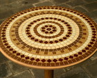 Mesa &quot;Composio circular&quot;
