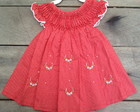 Vestido Casinha de abelha vermelho pos