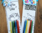 Kit colorir Backyardigans/Charlie e Lola