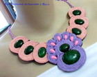 MAXI COLAR SOUTACHE *LILS E PSSEGO*