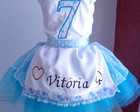 Conjunto tutu personalizado tema Alice