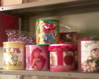 latas decoradas...