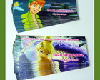 Adesivos Tinkerbell e Peter Pan