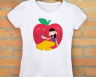 Camiseta Branca de Neve