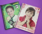 Agendinha 10x14cm personalizada