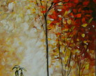 PAISAGEM IMPRESSIONISTA 40x100 COD 562