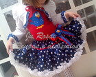 Conjunto Galinha Frufru Luxo com bolero