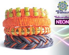 Mix Neon Colours- Coral