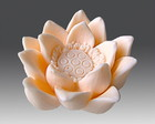 Molde Silicone  Lotus Chinesa Mdia