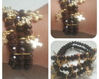 Pulseira Cruz Marrom