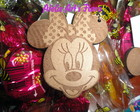 Chaveiro em MDF - Minnie Mickey
