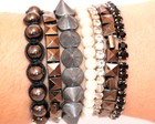 FRETE GRTIS! Kit de Pulseiras Onix