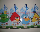 Convite Angry Birds Marca Paginas
