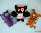Monster High - bichinhos de estima��o