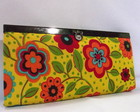 Carteira Retr� flower power