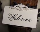 Placa Welcome   -  Ornathe