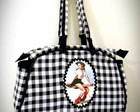 Bolsa Xadrez Country Pin Up