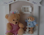 (MO 0194) Quadro maternidad urso