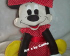 Enfeite de mesa Minnie sentadinha