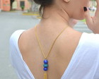 BACK NECKLACE ETHNIC ROYAL