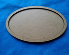 PLACA OVAL 17 X 11