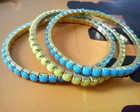 Mix pulseiras neon 3 peas