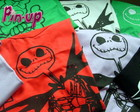 CAMISETAS BABY LOOK JACK SKELETON