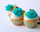 colar cupcake Hortnsia