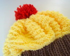 Gorro Cupcake - PRONTA ENTREGA