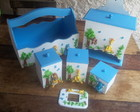 kit infantil safari