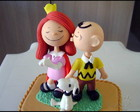 Charlie Brown, Menininha ruiva e Snoopy
