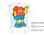 Camisa Bart Simpsom