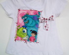 Camiseta Infantil Monstros SA