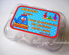 Lembrancinha Galinha pintadinha