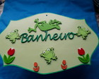 PLACA DE BANHEIRO
