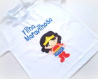 Camiseta Ou Body - Filha Maravilhosa