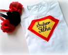 Camiseta Ou Body - Super Filha