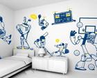 Kit Adesivos - Tema: Robôs atletas