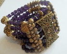 Bracelete Medieval purpura