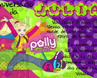 Convite - Polly Pocket